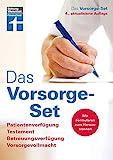 Das Vorsorge-Set: Patientenverfügung, Testament, Betreuungsverfügung, Vorsorgevollmacht,...